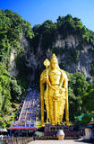 Kuala Lumpur, Malásia - 11 de dezembro de 2014: Cavernas de Batu fotografia de stock royalty free
