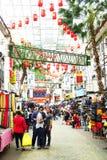 KUALA LUMPUR, MALÁSIA - 10 DE JANEIRO DE 2017: Cena da rua em Kuala Lumpur, Malásia Fotos de Stock