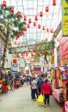 KUALA LUMPUR, MALÁSIA - 10 DE JANEIRO DE 2017: Cena da rua em Kuala Lumpur, Malásia Imagens de Stock