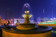 KUALA LUMPUR MALÁSIA - 13 de março de 2014 sultan imagens de stock royalty free