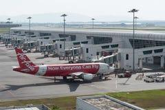 Kuala Lumpur, Malaisie - 24 mars 2018 : Terminal d'aéroport international de Kuala Lumpur Images stock