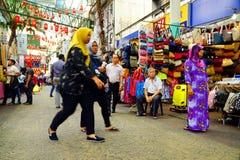 KUALA LUMPUR, MALASIA - 10 DE ENERO DE 2017: Escena de la calle en Kuala Lumpur, Malasia Foto de archivo libre de regalías