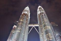 Kuala Lumpur, Malasia - 3 de noviembre de 2017: Torres gemelas Malasia Foto de archivo