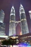 Kuala Lumpur, Malasia - 3 de noviembre de 2017: Torres de Petronas Fotografía de archivo libre de regalías
