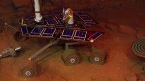 Kuala Lumpur, Malasia - mayo 1 modelo de vagabundo de Marte en un planetario almacen de video