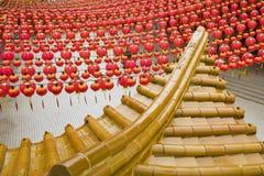"""KUALA LUMPUR MALAYSIA †""""Januari 24 2011 den Thean Hou templet fotografering för bildbyråer"""