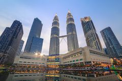 Kuala Lumpur Malaysia Royaltyfria Foton
