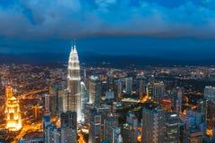 Kuala Lumpur Malaysia Arkivbild