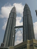 Kuala Lumpur, Malaysia. (Petronas Twin towers Stock Photography