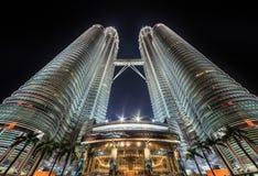 Petronas Towers - Kuala Lumpur - Malaysia Royalty Free Stock Photo