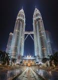 Petronas Towers - Kuala Lumpur - Malaysia Stock Photos