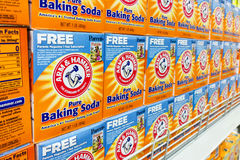 KUALA LUMPUR, Malaysia, August 25, 2017: Arm & Hammer Baking Sod Royalty Free Stock Image