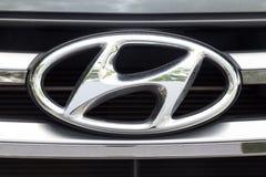 KUALA LUMPUR, MALAYSIA - August 12, 2017: The Hyundai Motor Grou. P is a South Korean multinational conglomerate headquartered in Seoul, South Korea Royalty Free Stock Image