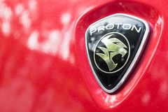 KUALA LUMPUR, MALAYSIA - August 12, 2017: PROTON Holdings Berhad. Is a Malaysia-based corporation active in automobile design, manufacturing, distribution and Stock Image