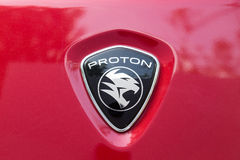 KUALA LUMPUR, MALAYSIA - August 12, 2017: PROTON Holdings Berhad. Is a Malaysia-based corporation active in automobile design, manufacturing, distribution and Stock Photo