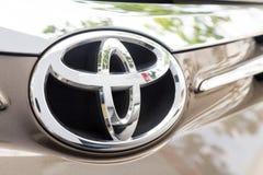 KUALA LUMPUR, MALAYSIA - August 12, 2017: Toyota Motor Corporati. On is a Japanese multinational automotive manufacturer headquartered in Toyota, Aichi, Japan Stock Photography
