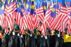 KUALA LUMPUR, MALAYSIA 27. AUGUST 2017: Unabhängiges Quadrat Ful stockbilder