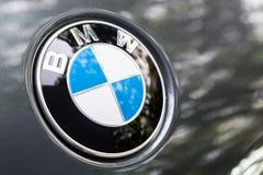 KUALA LUMPUR MALAYSIA - Augusti 12, 2017: BMW eller Bayerische Moto Royaltyfri Foto