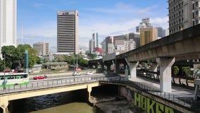 Kuala Lumpur Malaysia, Augusti 1, 2018 Gata lilla Indien i Kuala Lumpur Malaysia arkivfilmer