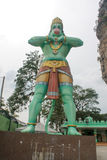 Kuala Lumpur Malaysia - Augusti 11 2013: Hanuman den gröna måndagen Royaltyfri Fotografi
