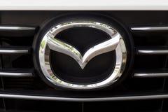 KUALA LUMPUR MALAYSIA - Augusti 12, 2017: Mazda Motor Corporatio Arkivbilder