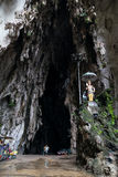 Kuala Lumpur, Malaysia - circa September 2015: Entrance to Cathedral cave in Batu Caves complex,  Malaysia Stock Photography