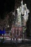 Kuala Lumpur, Malaysia - circa September 2015: Stairs to Ramayana cave in Batu Caves complex,  Malaysia Stock Photography