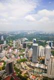 Kuala Lumpur (Malaysia) city view Stock Photo