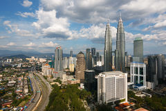 Kuala Lumpur, Malaysia. During day time Royalty Free Stock Photography