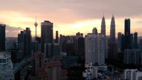 Kuala Lumpur Malaysia 22 de agosto de 2018, torre del kilolitro y torre gemela Kuala Lumpur de Petronas