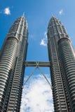 Kuala Lumpur,Malaysia,December 18,2013:Petronas Twin Towers, Kua Royalty Free Stock Images