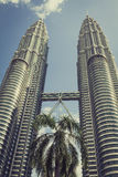 Kuala Lumpur,Malaysia,December 18,2013:Petronas Twin Towers, Kua Stock Photos