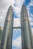 Kuala Lumpur,Malaysia,December 18,2013:Petronas Twin Towers, Kua Royalty Free Stock Photography