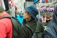 KUALA LUMPUR , MALAYSIA - DECEMBER 19 ,2016 : Tourist in Jalan royalty free stock images