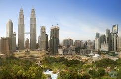 Kuala Lumpur, Malaysia downtown city skyline Royalty Free Stock Photo