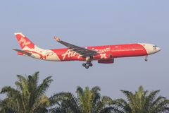 Air Asia X stock photo