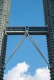 KUALA LUMPUR, MALAYSIA - FEBRUARY 29: Close up view of skybridge Royalty Free Stock Photo