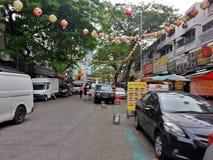 Kuala Lumpur Malaysia Jalan Alor Royaltyfri Fotografi