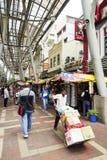 KUALA LUMPUR, MALAYSIA - 10. Januar 2017 - Kasturi-Weg neben zentralem Markt, Kuala Lumpur Lizenzfreie Stockfotografie