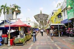 KUALA LUMPUR, MALAYSIA - 10. Januar 2017 - Kasturi-Weg neben zentralem Markt, Kuala Lumpur Lizenzfreies Stockbild