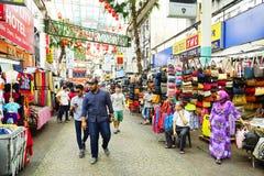 KUALA LUMPUR, MALAYSIA - 10. JANUAR 2017: Straßenbild in Kuala Lumpur, Malaysia Stockfoto