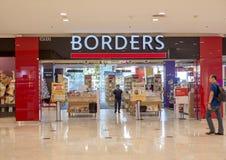 Main entrance of Borders bookstore in Kota Damansara. Borders Group, inc was an international book and