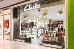 KUALA LUMPUR, MALAYSIA -  January 29, 2017: Clarks, is a British Stock Photos