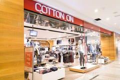 KUALA LUMPUR, MALAYSIA -  January 29, 2017: Cotton On is Austral Royalty Free Stock Photo