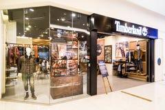 KUALA LUMPUR, MALAYSIA -  January 29, 2017: Timberland LLC  reta Royalty Free Stock Image