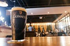 Kuala Lumpur, Malaysia, July 1, 2017:  Guinness is an Irish dry Royalty Free Stock Photos