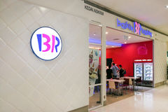 KUALA LUMPUR, Malaysia, June 25, 2017: Baskin-Robbins is the wor Royalty Free Stock Photography