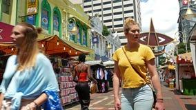 Kasturi Walk is a covered, open-air flea market set along Jalan Kasturi