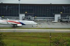 KUALA LUMPUR, MALAYSIA - JUNE 2, 2019: KUALA LUMPUR INTERNATIONAL AIRPORT royalty free stock photo