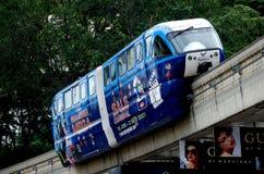 Kuala Lumpur, Malaysia: KL Monorail Royalty Free Stock Images